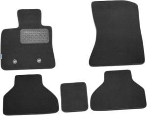 Комплект ковриков в салон автомобиля Novline-Autofamily BMW 3 E90 2006. Цвет: черный - фото 10
