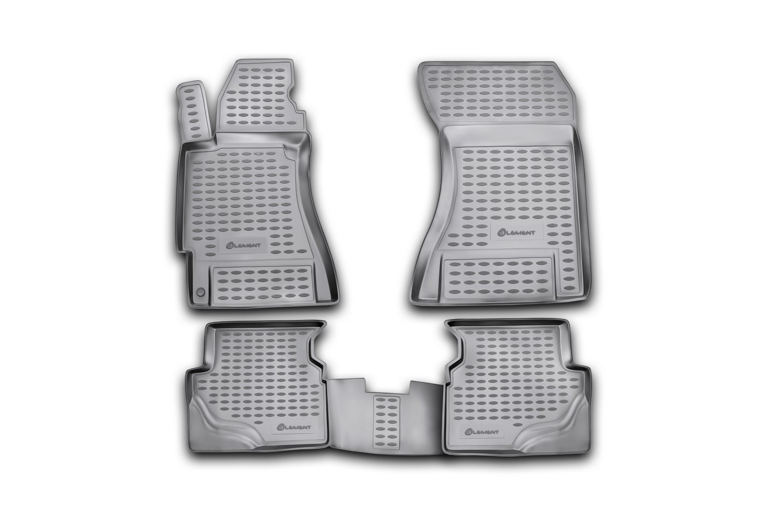 Комплект ковриков в салон автомобиля Novline-Autofamily Lexus IS 250 / IS F 2005-2013 - фото 11