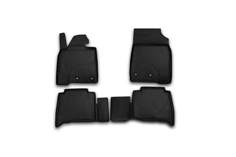 Автомобильный коврик Novline NLT.48.98.11.110kh для Toyota Hilux 2015 Black - фото 5