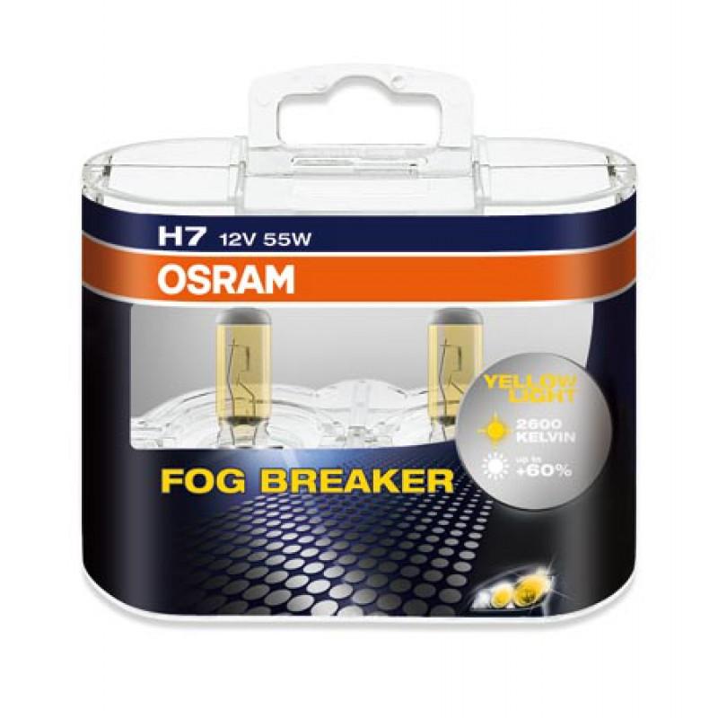 (1 пара) 12 в 60/55 вт h4 галогенные лампы желтый 3000 к osram тип фар стекла авто лампы